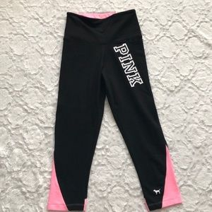 NWT PINk Victorias Secret Crop Leggings